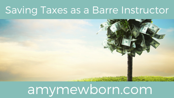 7 Tax Deductions You Should Be Taking as a Barre Instructor