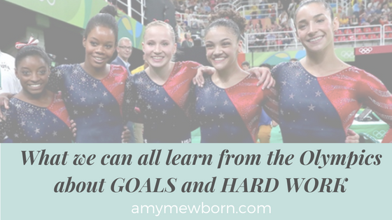 Olympics Goals and Hard Work in Business