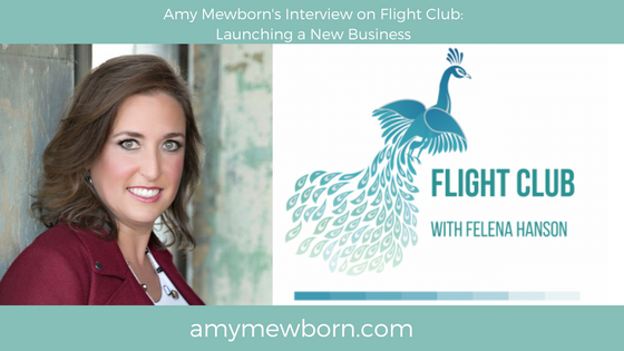Amy Mewborn Interview on Flight Club with Felena Hanson