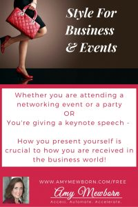 Style for business and events