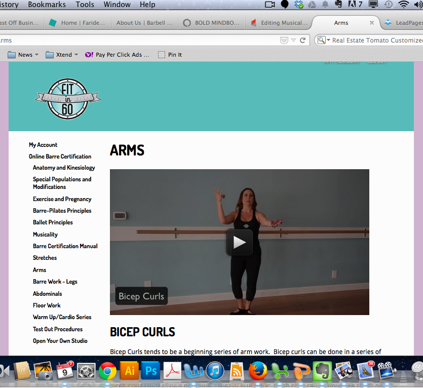 Barre Certification 72 Hour Special With Amy Mewborn And Barre60